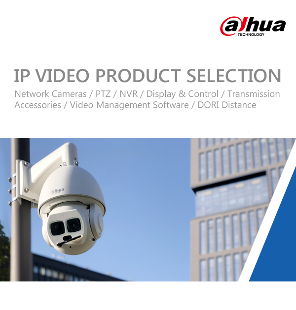 DAHUA V3IP VIDEO PRODUCT SELECTION