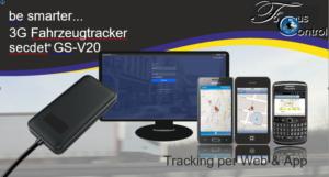 GS-V20 3G - GPS Fahrzeugtracker Ortung für Fahrzeuge aller art, inkl. Aufschaltungskosten