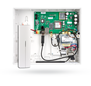 Funk und Bus Alarmzentrale mit GSM 3G/LAN - Kommunikations- +Funkmodul