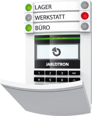 JABLOTRON 100 BUS-Alarmanlagen
