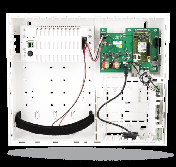 JABLOTRON 100 Alarmzentrale JK-103KRY4G-SET mit 2G/3G/4G/LTE-Modul, LAN Übertragungsgerät und Funkmodul
