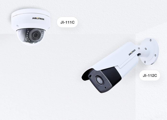 IP-Kamera von Alarmanlage Jablotron-100