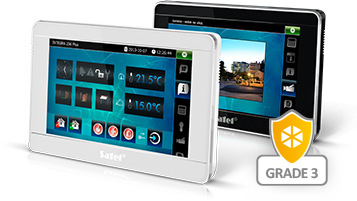 SATEL INTEGRA Touchscreen Bedienteil