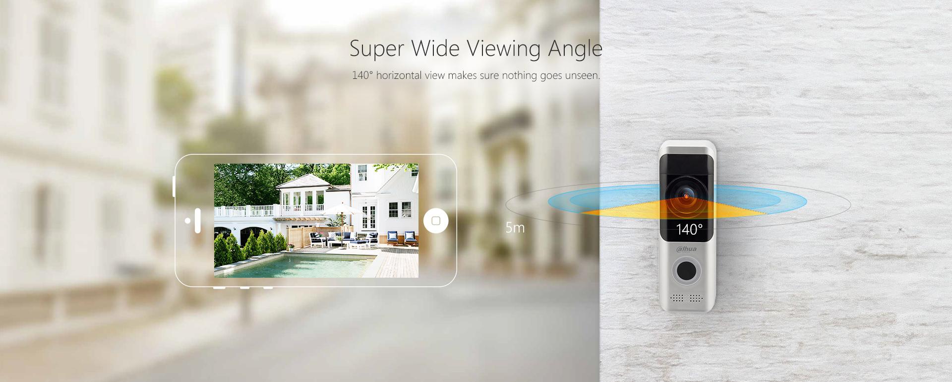 WLAN-Video-Tuersprechanlage-IP-Tuerklingel-mit-2MP-Kamera-Wi-Fi-und-Batteriebetrieb-Superweitwinkel