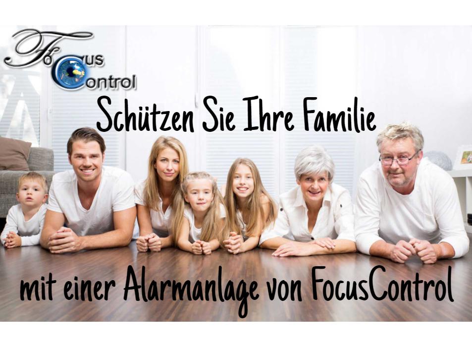 Schützen Sie Ihre Familie mit einer Alarmanlage von FocusControl