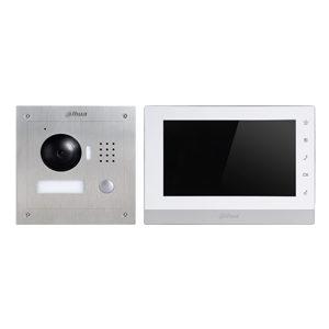 DAHUA 2-Draht Set Video-Gegensprechanlage inkl. Netzteil und Controller (AP)